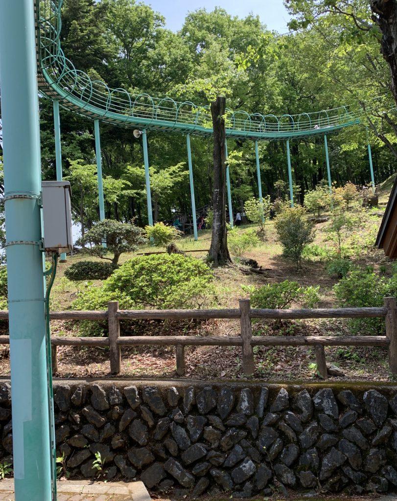 埼玉県小川町公園 ローラー滑り台