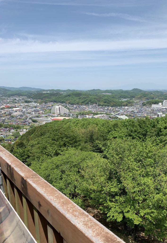 埼玉県 小川町 公園 展望台