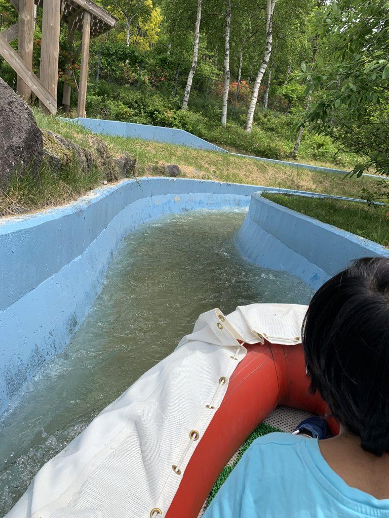 池の平ファミリーランドアドベンチャーカヌー最高