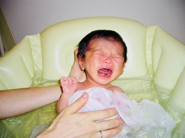 赤ちゃん 沐浴
