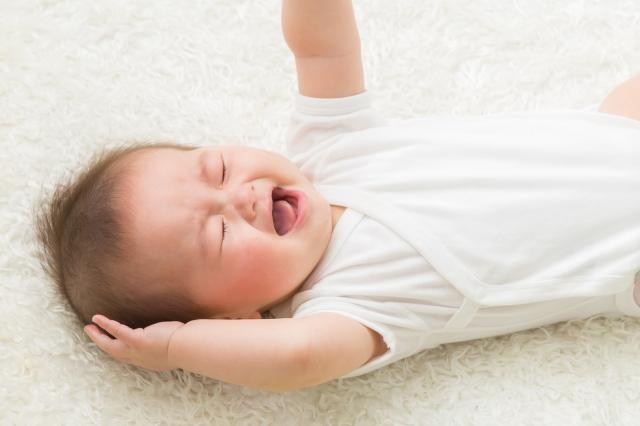 赤ちゃん泣き止まない