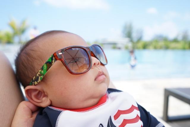 赤ちゃん紫外線